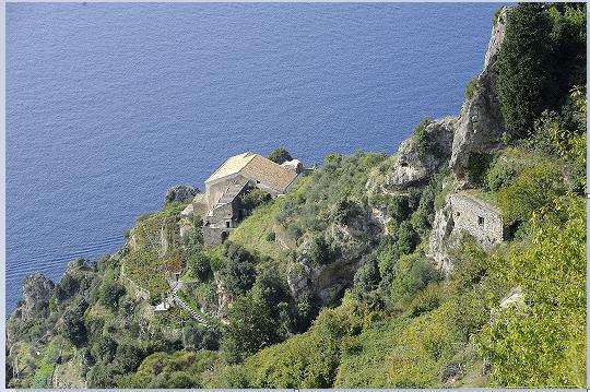 Dall'alto il Convento di San Domenico